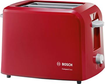 Imagen de Tostadora Bosch Compact Class - Rojo TAT3A014