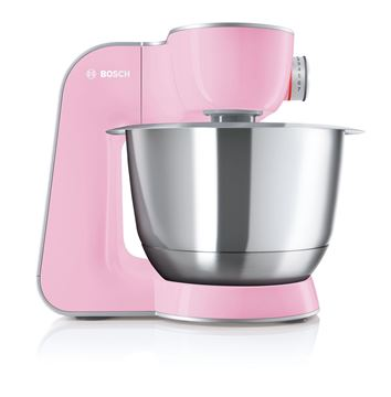 Imagen de Robot de cocina Bosch 1000w rosa MUM58K20