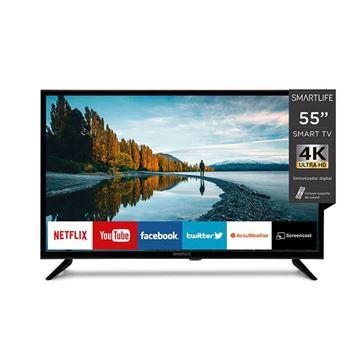 """Imagen de Led Smart TV 55"""" UHD 4K Smartlife Res 3840x2160"""