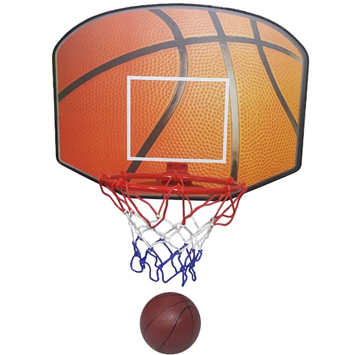 Imagen de Tablero de basketball con aro de metal