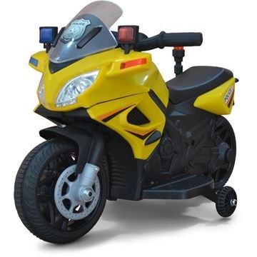 Imagen de Moto a batería JC911 amarilla
