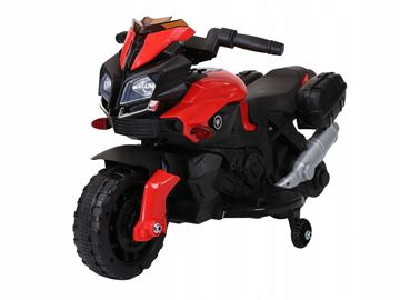 Imagen de Moto a batería JC919 roja/negra