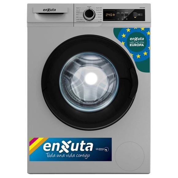 Imagen de Lavarropa Automático Carga Frontal 6 kg Digital Silver Origen Europa LENX765DS