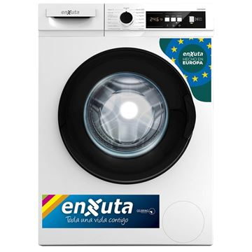 Imagen de Lavarropa Automático Carga Frontal 6 kg - Digital - Blanco - Origen Europa LENX765DW