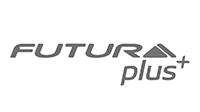 Logo de la marca Futura+