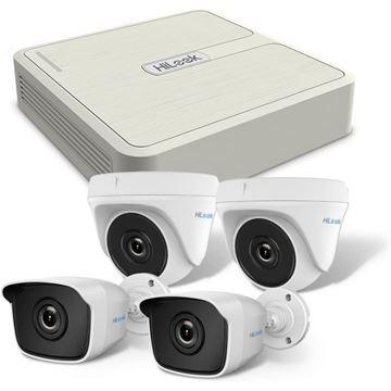 Imagen de Kit de cámaras CCTV DVR HiLook (By Hikvision) TK-4041M-P