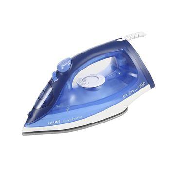 Imagen de Plancha a vapor con suela antiadherente azul Philips