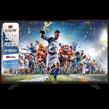 """Imagen de SMART TV 55"""" ULTRA HD 4K – ENXUTA LEDENX1255SDF4KL"""