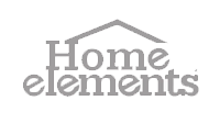Logo de la marca HOME ELEMENTS