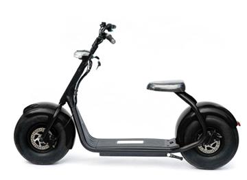 Imagen de Moto eléctrica Smartroad c/susp negra