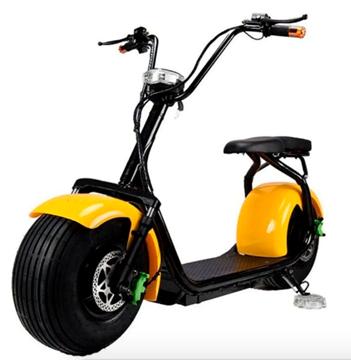 Imagen de Moto eléctrica Smartroad c/susp amarilla