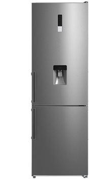 Imagen de Refrigerador Futura Plus FUT-FID295NF freezer inf. Acero c/dispensador