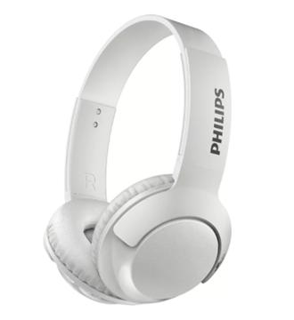 Imagen de Auriculares  Philips blanco supraurales inalámbricos con micrófono SHB3075WT/00