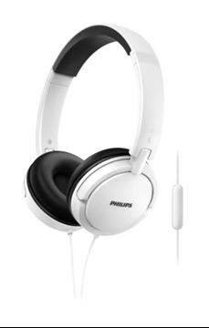 Imagen de Auriculares  Philips con micrófono SHL5005WT/00