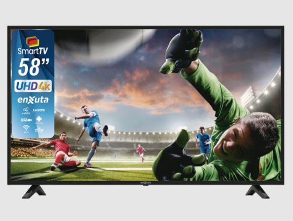 Imagen de Smart TV Enxuta 58´´ Modelo LEDENX58S4K