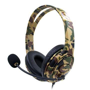 Imagen de Auricular Gamer con micrófono camuflado Ledstar PS4-890PRO