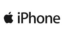 Logo de la marca iphone