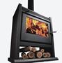 Imagen de Calefactor Calafate a leña alto rendimiento Tromen