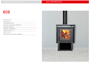 Imagen de Calefactor Eco a leña alto rendimiento Tromen
