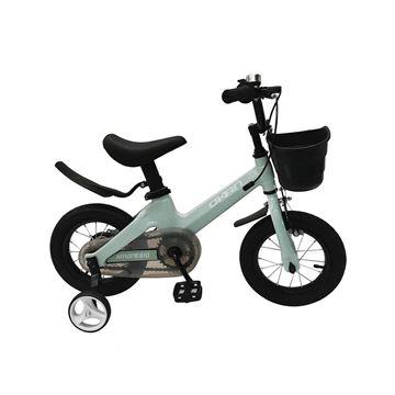 Imagen de Bicicleta Magnesio Okan rodado 12 c/canasto verde agua 122005
