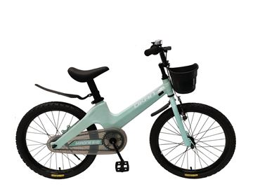 Imagen de Bicicleta Magnesio verde agua 20V Okan  c/canasto verde agua