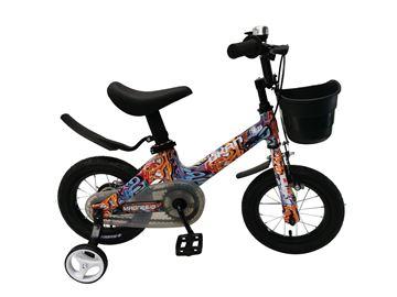 Imagen de Bicicleta infantil Okan Magnesio Unisex rodado 12 c/canasto 122004