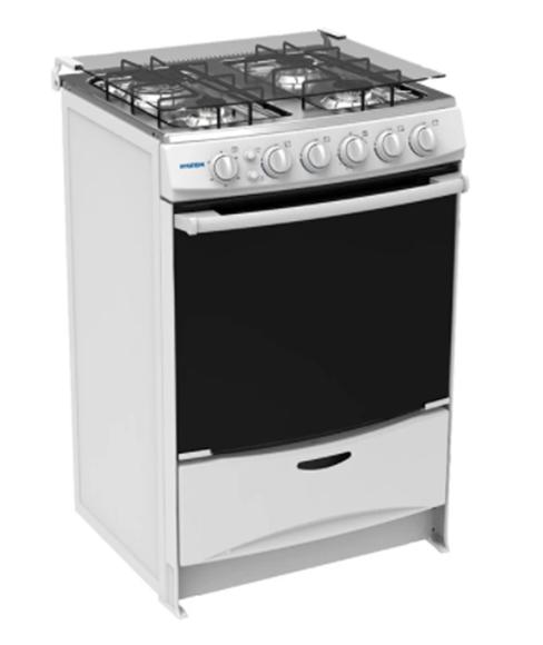 Imagen de Cocina A Gas Con Calientaplatos Hyundai Hycgb60