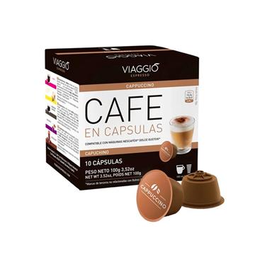Imagen de Cápsulas de café  Viaggio Capuchino compatible con Dolce Gusto pack 10