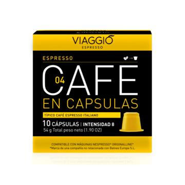 Imagen de Cápsulas de Café Viaggio Espresso compatible Nespresso pack 10 unidades 0024